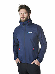 New Berghaus Men's Stormcloud Jacket Outdoor Clothing Medium Dark blue