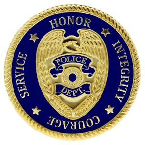 Details about Police Officers Prayer Police Challenge Coins - Set of 2  Coins - Police Gifts