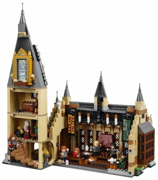 NEW Harry Hogwarts Potter Legos- Hogwarts Harry express, Quidditch, Whomping Willow, Great Hall 0d0243