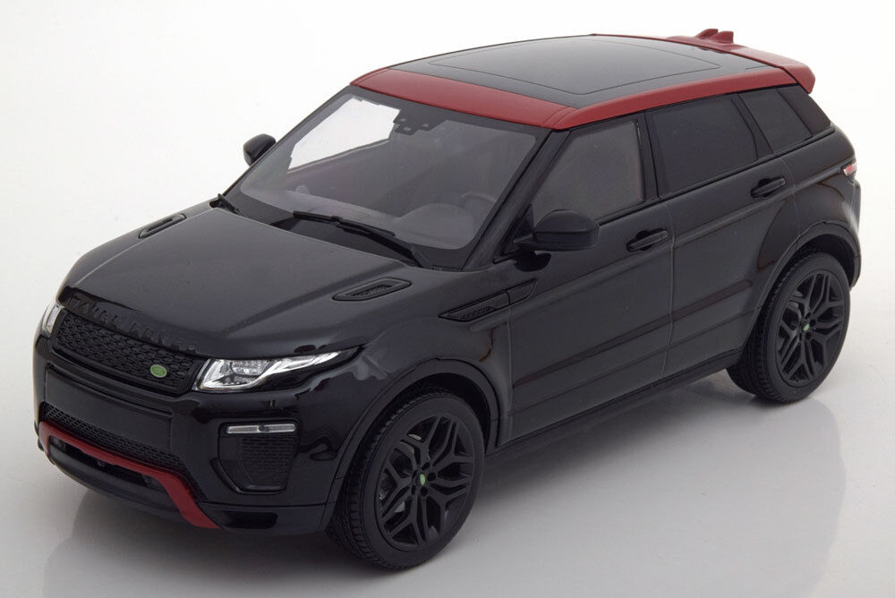 Kyosho 2016 Range Rover Evoque Dynamic Lux Black Red color in 1 18 Scale New