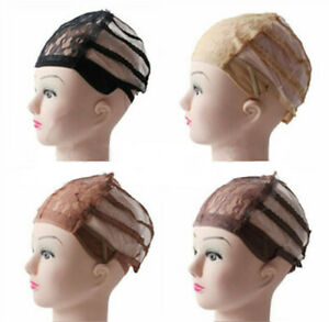 Adjustable-Lace-Wig-Base-Inner-cap-Breathable-Weaving-Net-making-Wigs-Supply