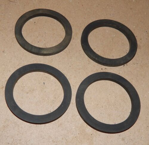"Camlock Kamlok Gasket Seals 1 15//16/"" OD x1 7//16/"" IDx1//8/"" 4ea Rubber Washers 146U"