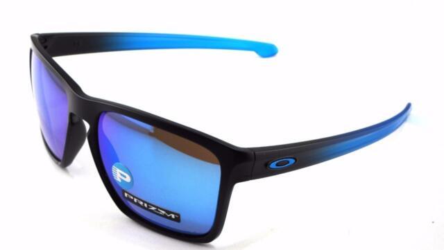 b4209dab8b8f New Oakley Sunglasses Sliver XL Sapphire Fade Prizm Polarized  9341-1357 In  Box