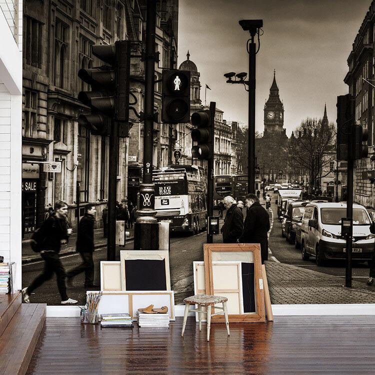3D Vintage Straßenstadt 67 Tapete Tapeten Mauer Foto Familie Tapete Wandgemälde