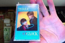 Three O'Clock- Vermillion- new/sealed cassette tape