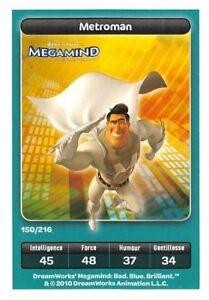 Karte-Carrefour-Dreamworks-Megamind-Metroman-Nr-150