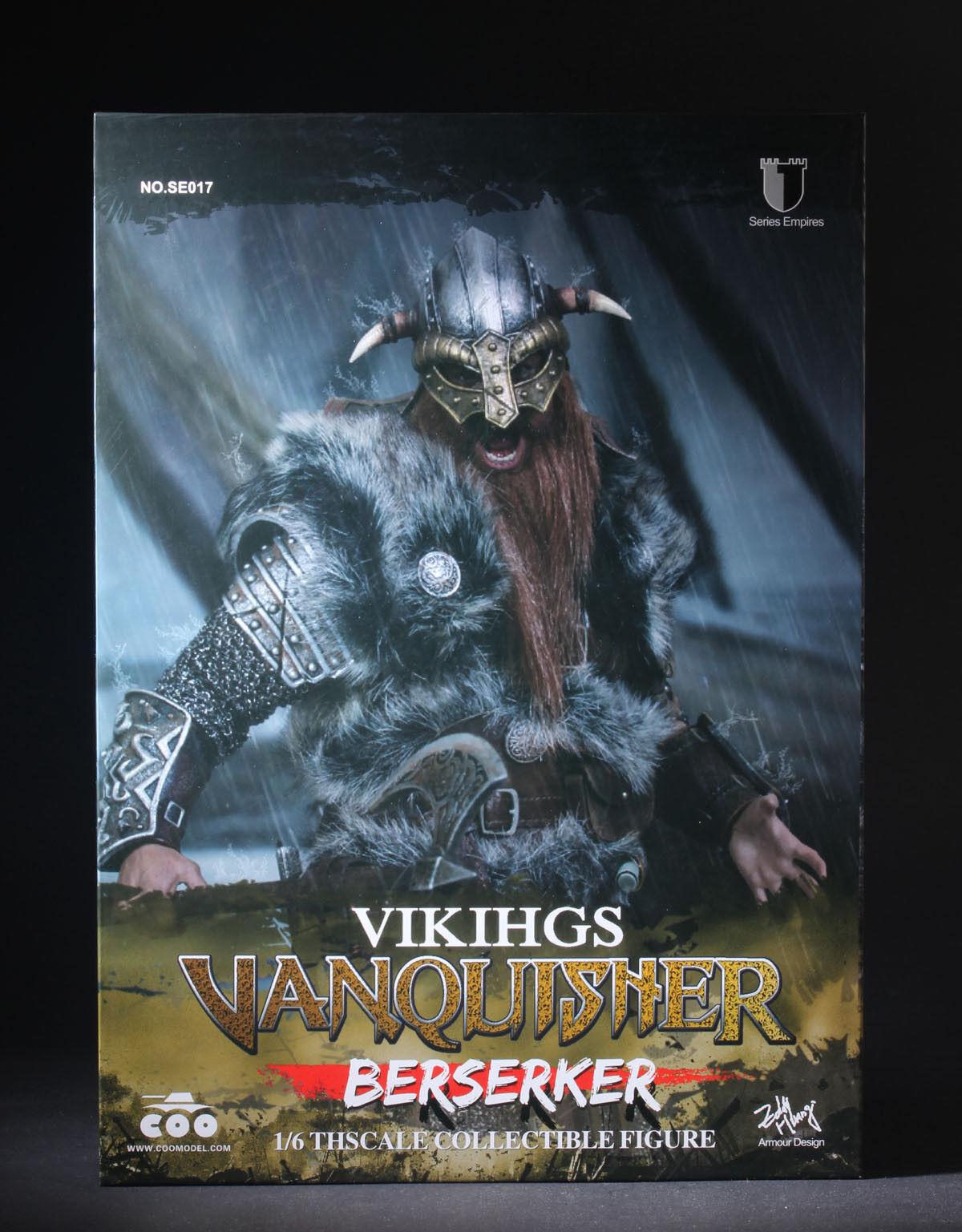 COOMODEL Metal Armor VIKING Warrior VANQUISHER BERSERKER 1 6 Figure