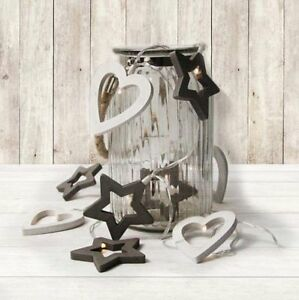10-Wooden-Heart-amp-Star-String-Lights-Battery-Operated-Indoor-Use