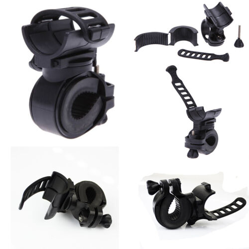 2015 360Degree Cycling Bicycle Bike Mount Holder for LED Flashlight Torch Clip
