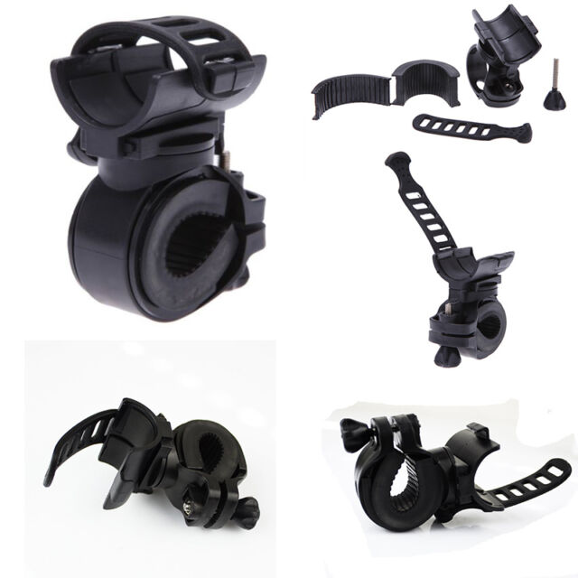 2015 360Degree Cycling Bicycle Bike Mount Holder for LED Flashlight Clip