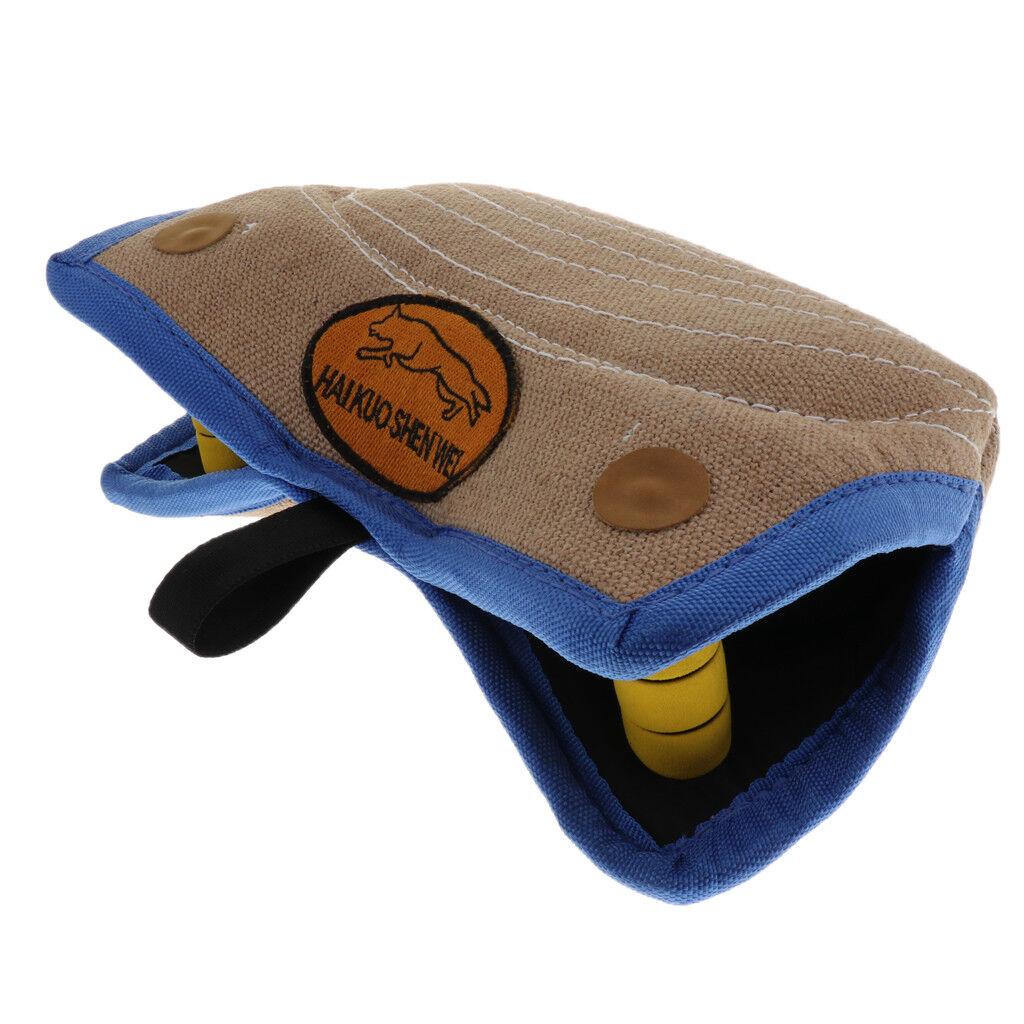 Dog Pillow Bite Training Toy Tug Jute Durable Pet Training Arm Sleeve
