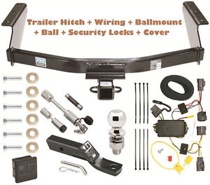 07 11 dodge nitro trailer tow hitch pkg deluxe w wiring. Black Bedroom Furniture Sets. Home Design Ideas