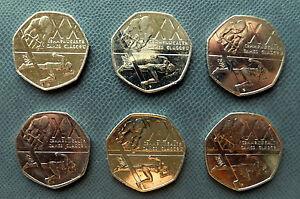 Jeux Du Commonwealth Glasgow 50 Pence 6 Pièces Glasgow 2014-afficher Le Titre D'origine Ark1giry-08001232-493439989