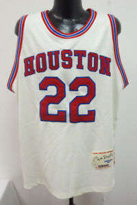brand new 707e0 9fe6d Details about HOUSTON COUGARS CLYDE DREXLER NCAA ADIDAS BASKETBALL JERSEY  VINTAGE RETRO SZE 52