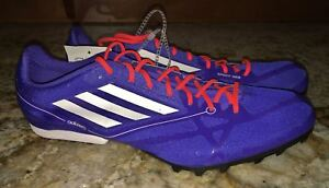Adidas Adizero MD 2 Running Spikes Mens Blue