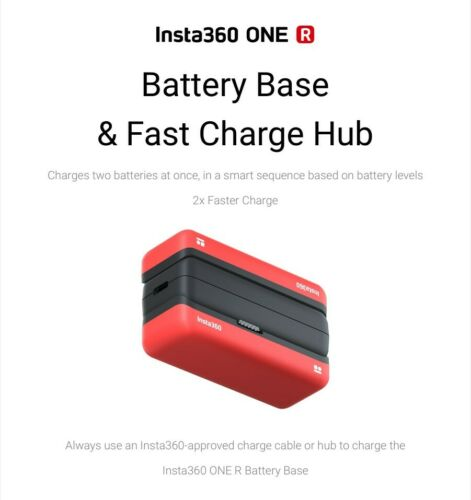 Original Battery Base//Fast Charge Hub//Accessories For Insta360 ONE R