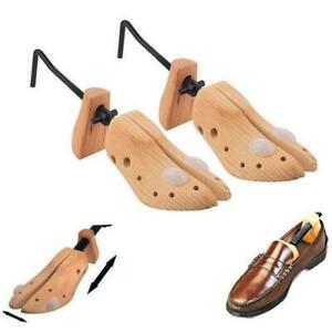 2x-Mens-Shoe-Stretchers-Boot-Trees-Inserts-Width-Wooden-Shaper-Gents-Size-7-11