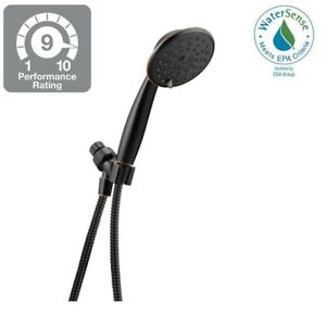 Delta-3-Spray-Watersense-Handheld-Shower-In-Spot-Resistant-Oil-Rubbed-Bronze-NEW