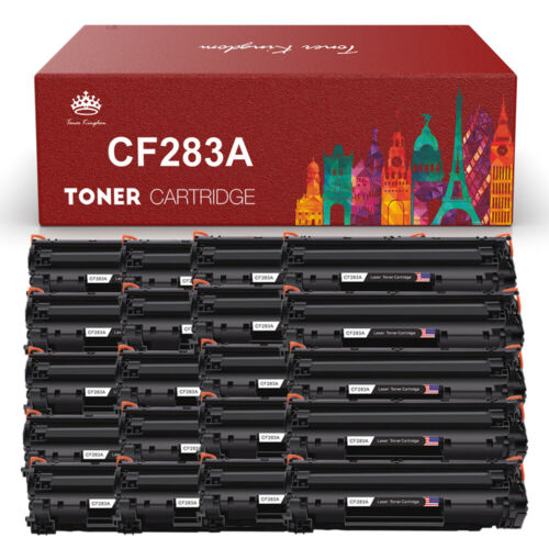 Lot Replacement CF283A 83A High Yield Toner Cartridge For LaserJet M125nw M127fn
