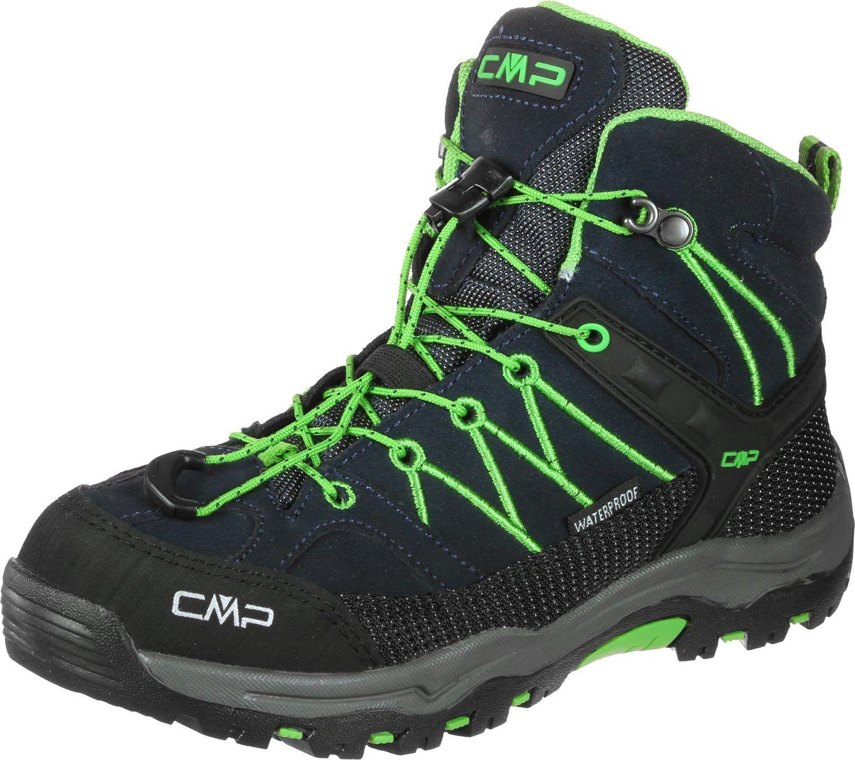 CMP Campagnolo Schuhe Pedule Adulti - Rigel Mid WP - Col. Blu/Nero/Verde
