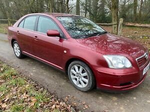 Toyota Avensis T3-s Automatic petrol