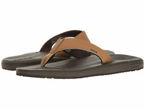 57b657777a46 Reef Men s Contoured Cushion Brown Tan Sandals Flip Flops - Brand ...