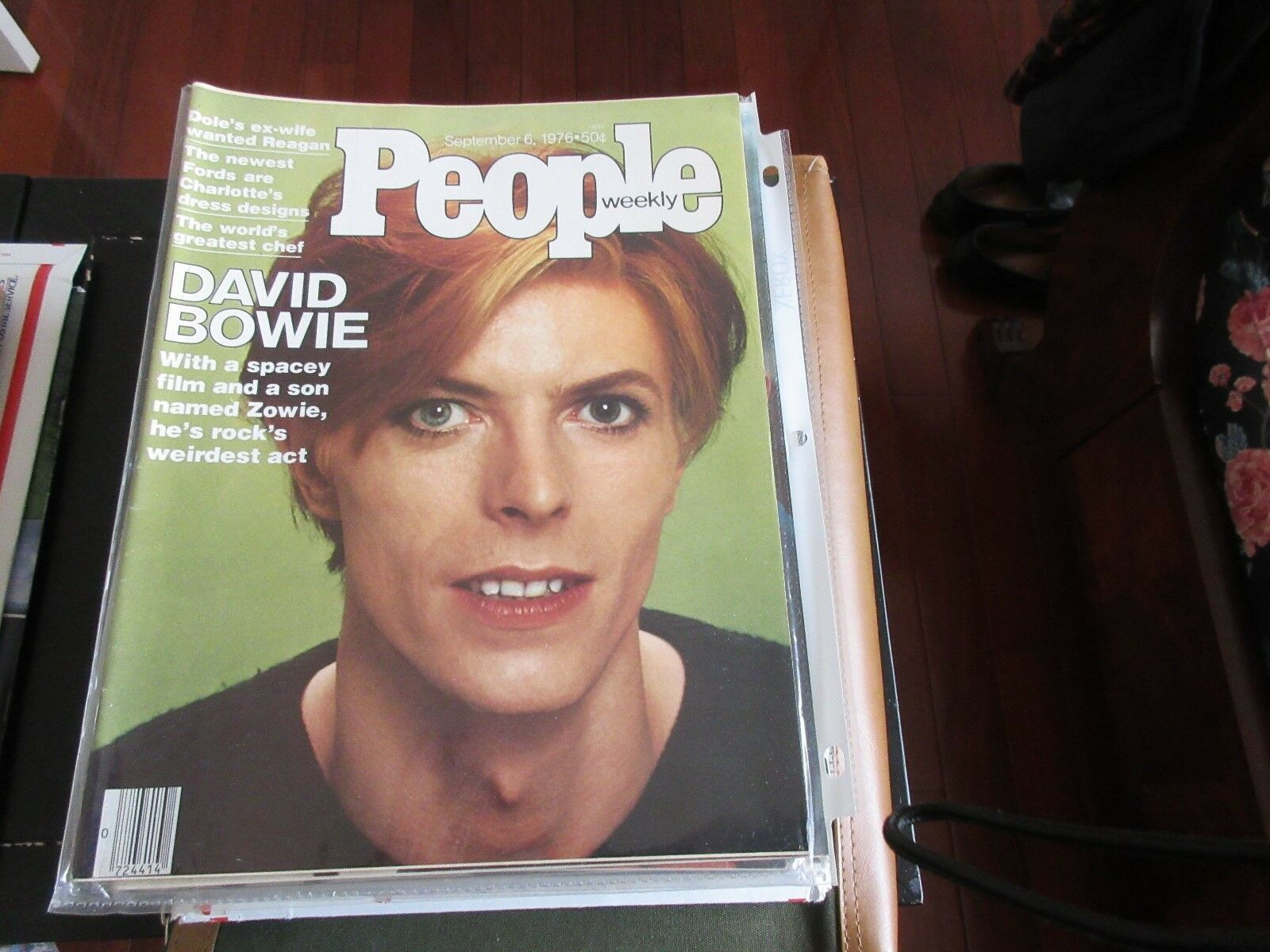 David Bowie , PEOPLE MAGAZINE , 9/6/76 , The World's Gr