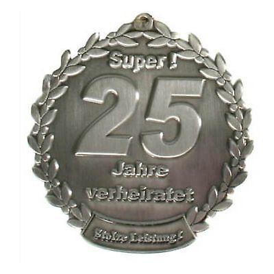 Orden Silberhochzeit 25 Jahre verheiratet Geschenk Medaille 126026013