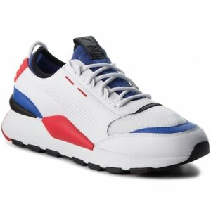 Details about 366890-01 NEW Men's PUMA RS-0 SOUND Shoe/WHITE-DAZZ/BLUE-HIGH  RED