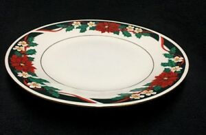 Tienshan-Deck-The-Halls-10-5-8-039-Dinner-Plates-2-1-8-034-Verge-Set-of-4