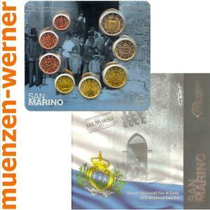 offizieller-Kursmuenzensatz-San-Marino-2013-alle-8-Muenzen-Satz-Euro-Muenze-KMS