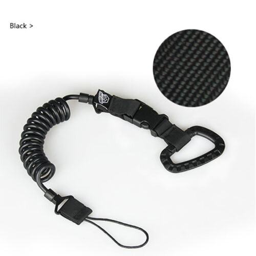 Military Lanyards Sling Cord Strap Bungee Cord Elastic Multifunctional Keychain