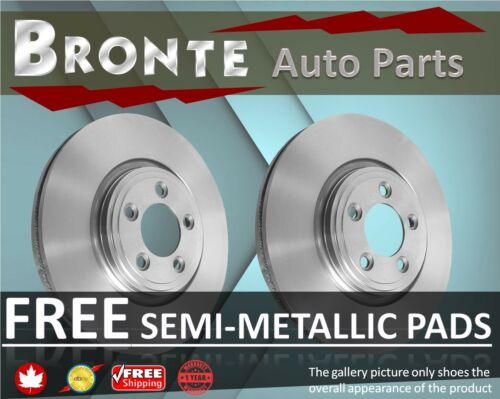 2007 2008 2009 Lexus RX350 Disc Brake Rotors and Free Pads Rear