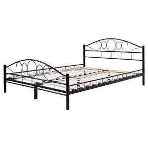 image is loading twin size wood slats steel bed frame platform - Wire Bed Frame