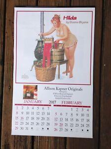 Plump redhead calendar
