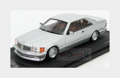 Coupe 1987 TOPMARQUES 1:43 TM43-08A C126 Mercedes Benz S-Class 560Sec Lorinser