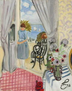 Henri-Matisse-The-Regates-Of-Nice-Poster-Reproduction-Giclee-Canvas-Print