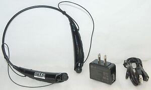 GENUINE LG Tone Pro HBS-750 Wireless Headphones BLACK Bluetooth 3.0 Headset