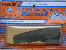 Roco Minitanks / Herpa (New) WWII Battlefield Accessories Guard House Lot 484K