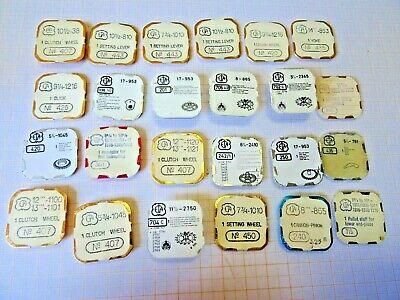 Angemessen Bastler Lot Mit älteren,neuwertigen Teilen Für Eta,armbanduhrwerke,bb 2 Volumen Groß