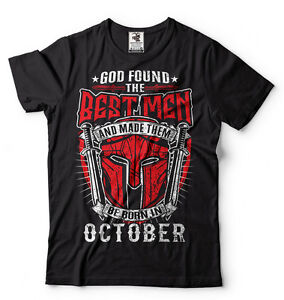 Birthday-Gift-T-shirt-Best-Men-Are-Born-In-October-Birthday-T-shirt-Gift-Ideas
