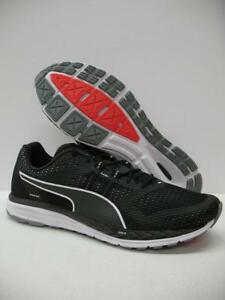 PUMA 189081 Speed 500 Ignite Running Training Shoes Sneakers Black ... 7bc4aa82a