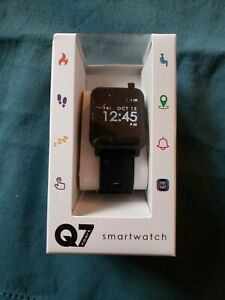 Details about Q7 Sport Smart Watch Step Counter #LTQ7SKY Black Color Brand  New