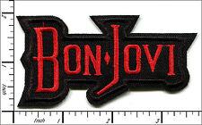 "20 Pcs Embroidered Iron on patches Bon Jovi Rock Band 3.54""x1.89"" AP056tC"