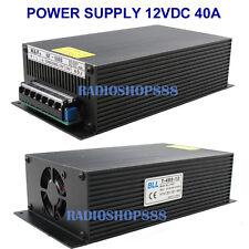 T-480-12 Super Stable Power supply unit 480W DC12V 40AMP ( 10.5 - 13.8V ) 220V