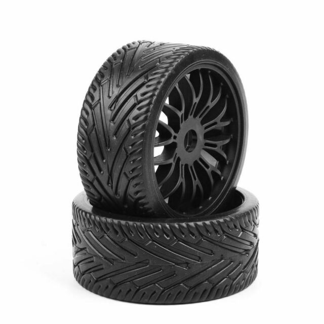 Off Road Tires For Sale >> 4 Pcs 17mm Hex Flat Off Road Tires Rims For 1 8 Hpi Hsp Traxxas Buggy Rc Car