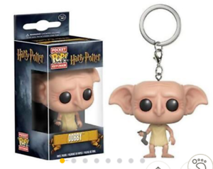 Harry-Potter-034-DOBBY-034-Funko-Pocket-Pop-Vinyl-Figure-Key-Chain-Keyring