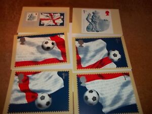 World-Cup-2002-21-May-2002-PHQ-242-set-Royal-Mail-Stamp-Card-Series-MINT