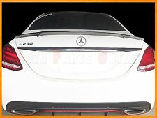B Style Carbon Fiber Trunk Spoiler For 15-17 M-BENZ W205 C250 C300 C350 Sedan