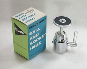 Vintage-Boots-Heavy-Duty-Ball-amp-Socket-Head-Box-PRAEZISION-West-Germany